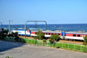 seaside train