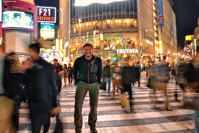 enjoying Shibuya