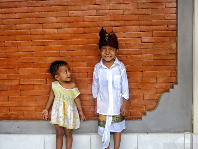 Kids from our host