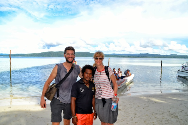 Our Papua host